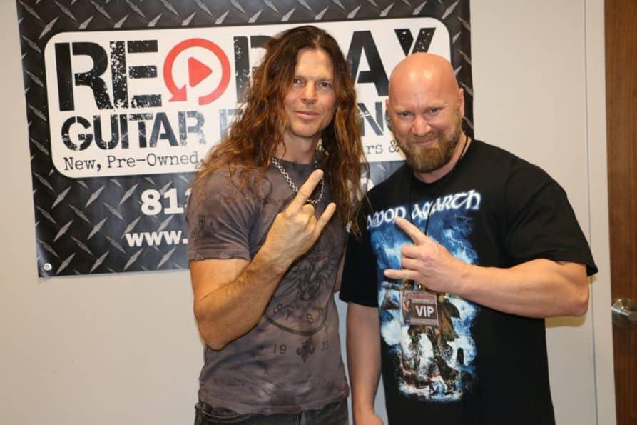 Chris Broderick in Tampa at Repay Guitar Exchange