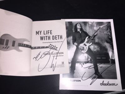Meeting Dave Ellefson at Replay Guitar Exchange in Tampa