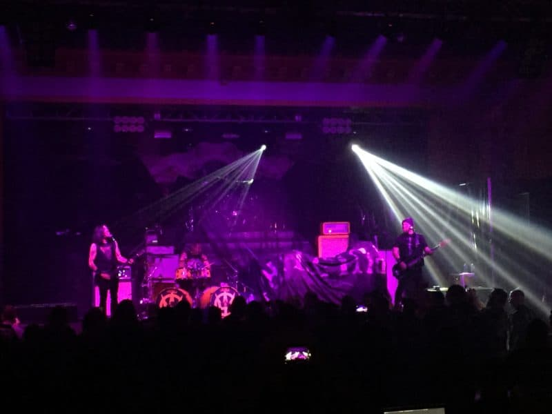 Prong opening for Testament at The Ritz in Ybor Tampa