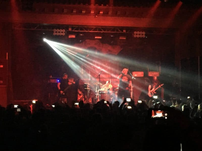 Sepultura at The Ritz Ybor City with Testament