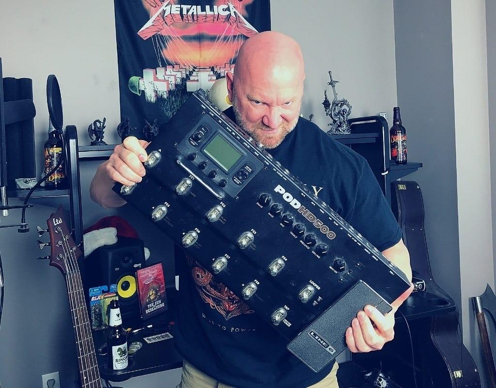 POD HD500 Metal Guitar Tones