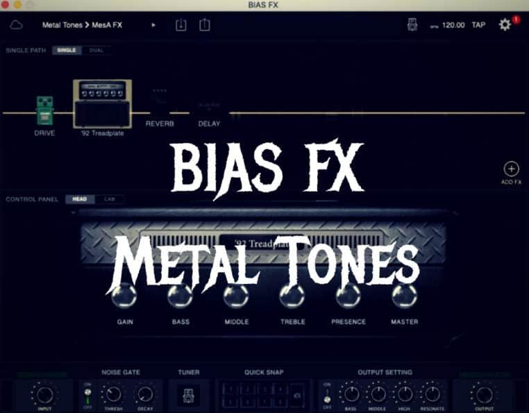 BIAS FX metal tones