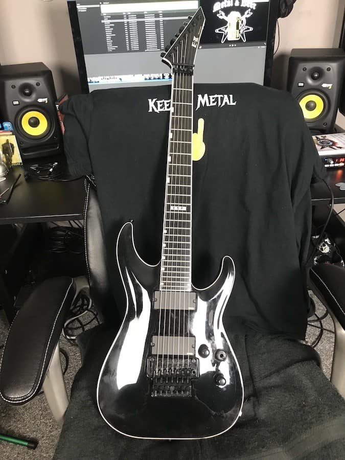ESP E-II Horizon FR-7 7 string guitar