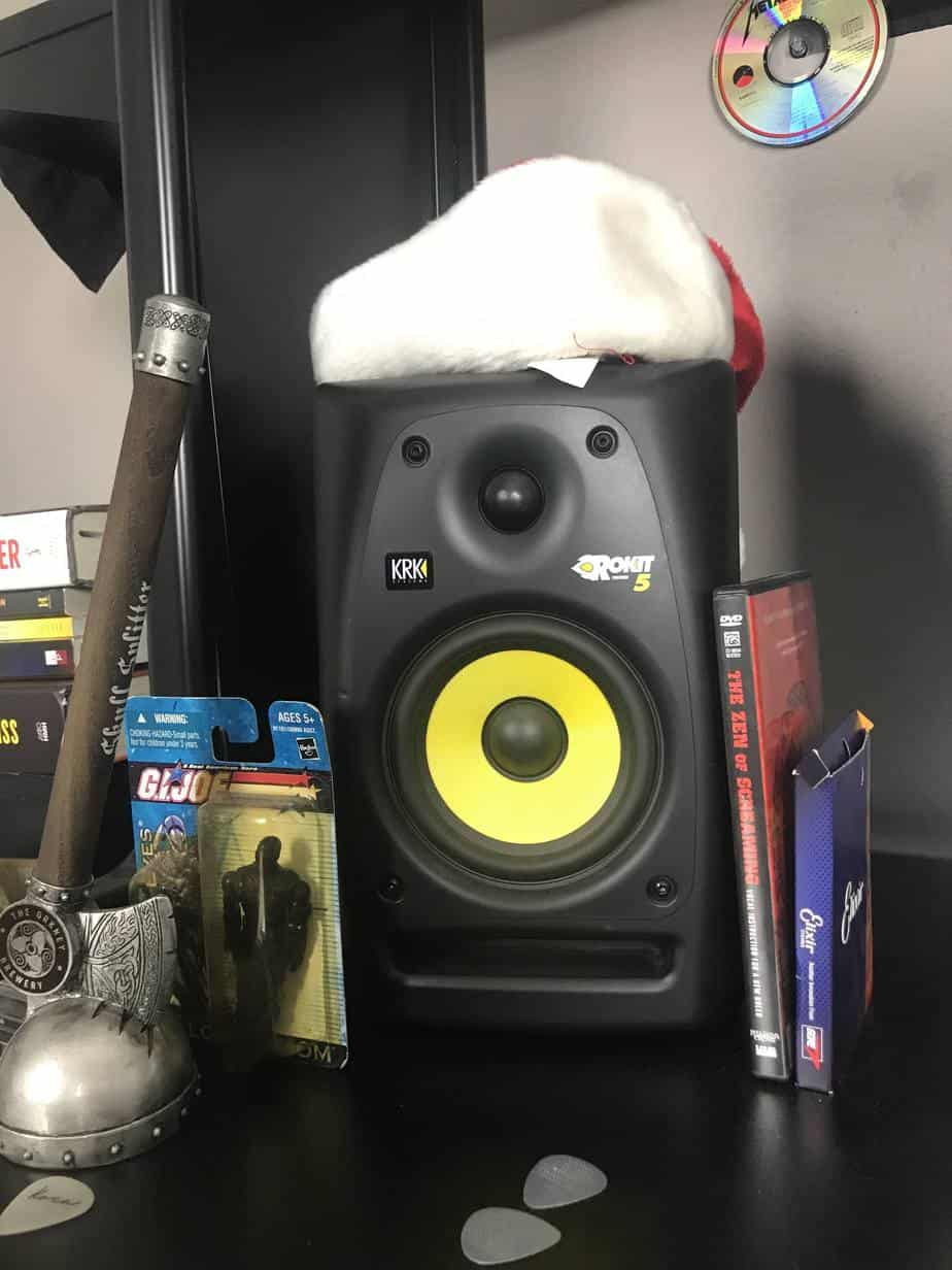 krk rokits g5 studio monitors