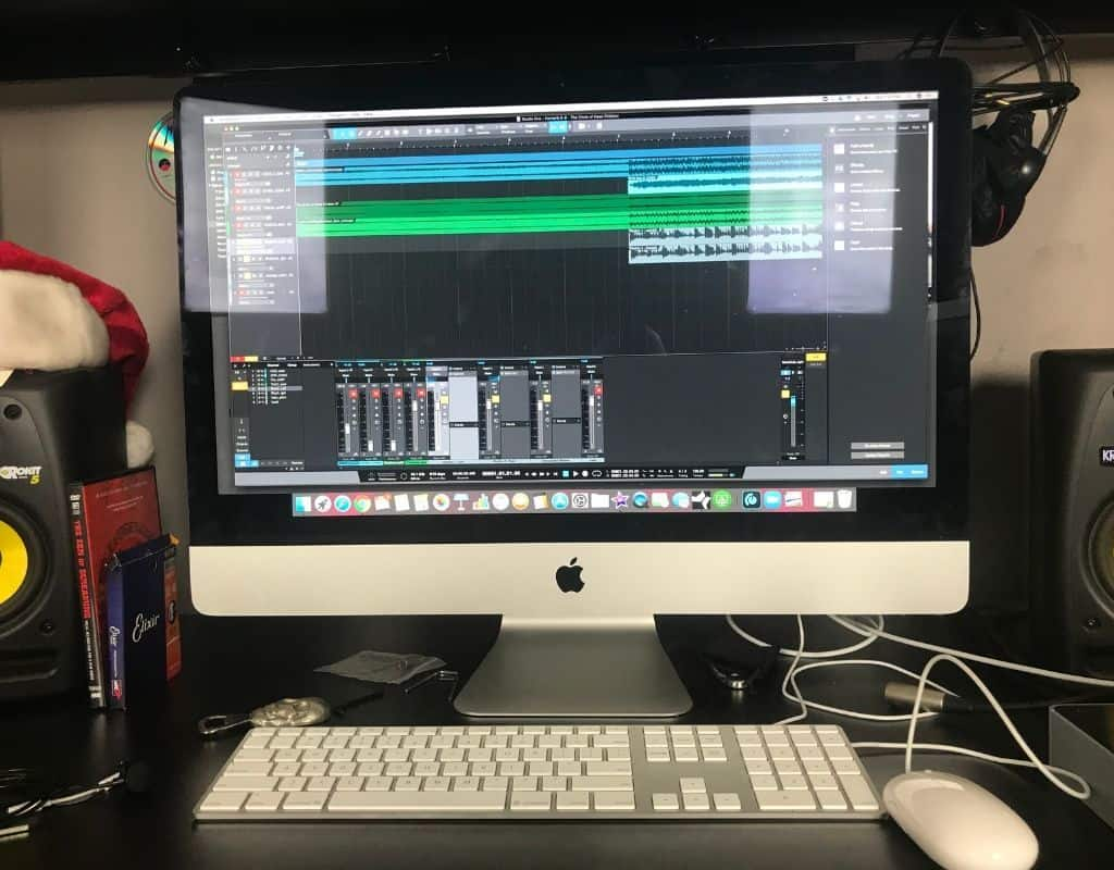 iMac for home recording studio
