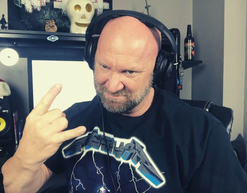 jason stallworth listening to metal at work