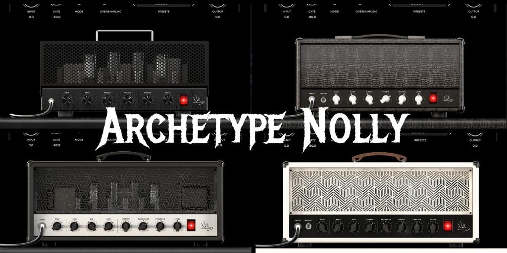 Archetype Nolly clean rock metal tones