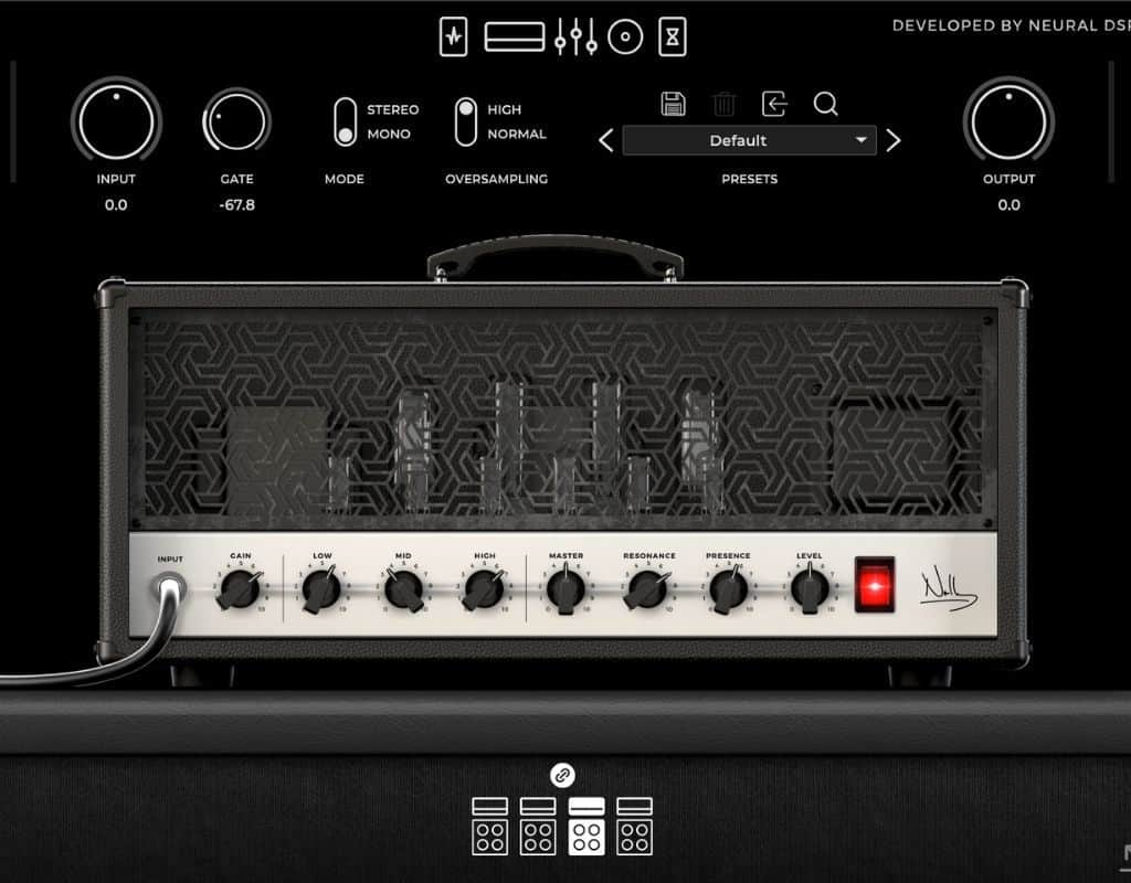 Archetype Nolly classic metal amp