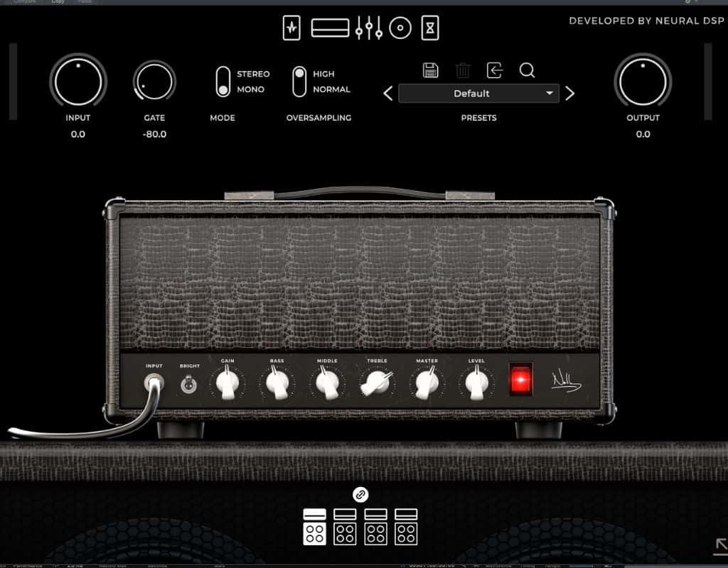 Archetype Nolly clean amp