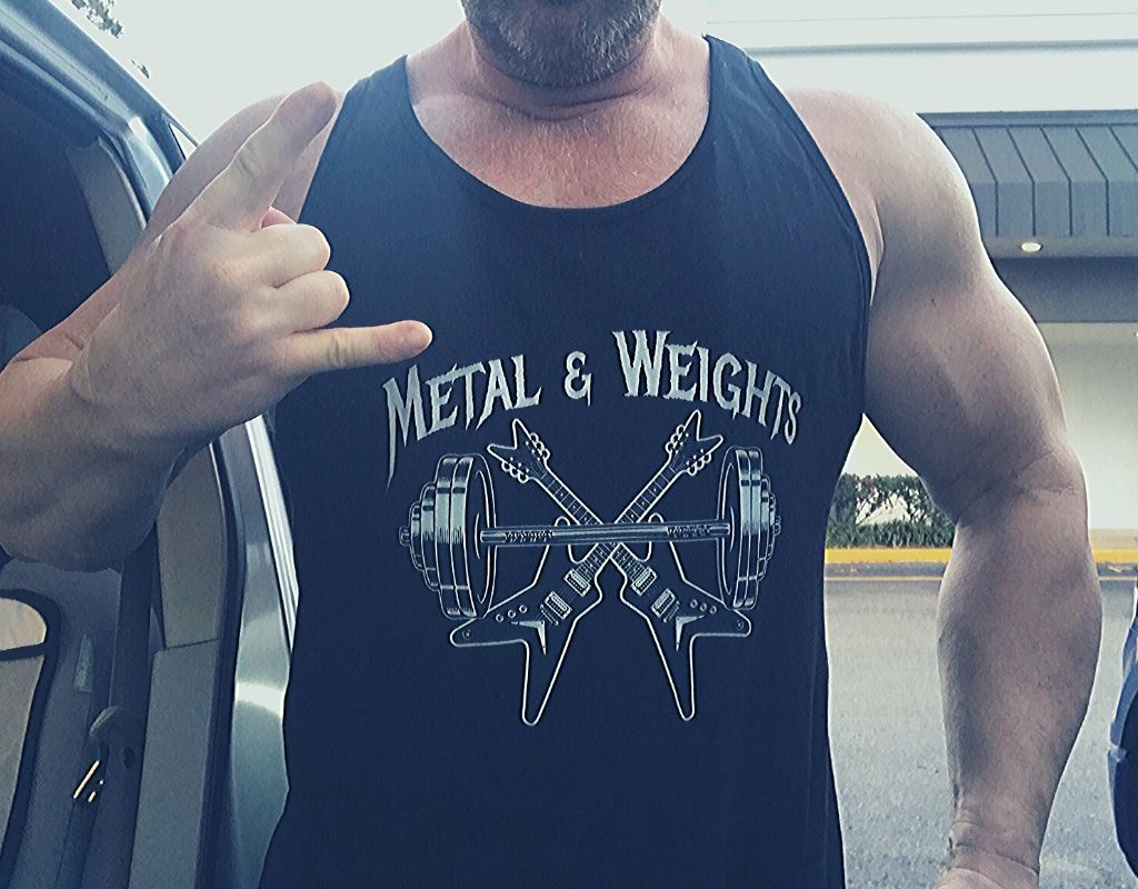 metal and weights - Jason Stallworth