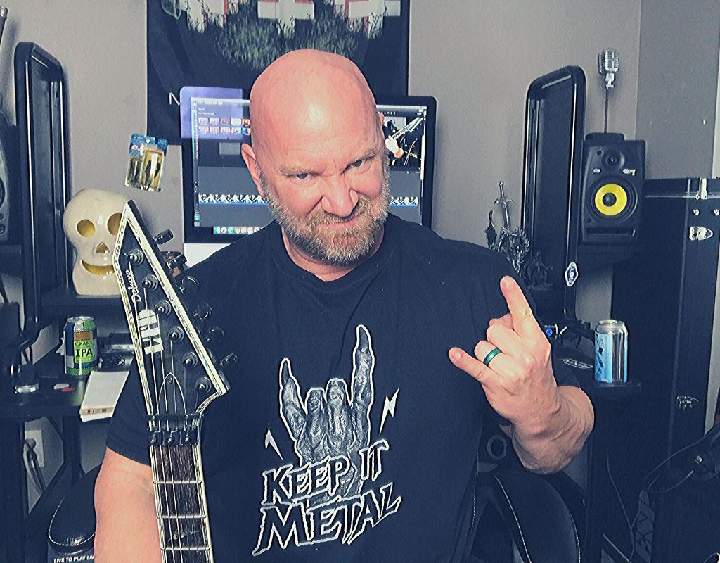 Keep It Metal Dragon Hand t-shirt