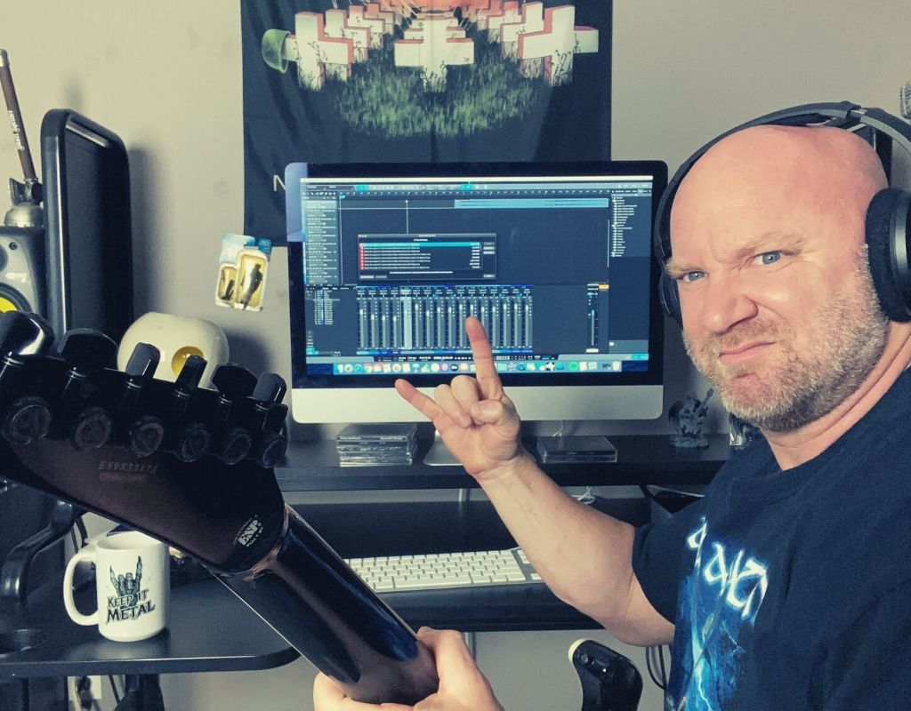 recording metal music