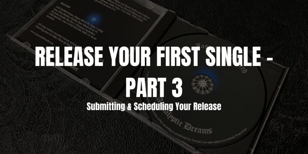release your first single part 3