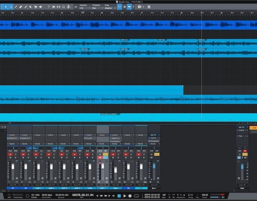 PreSonus Studio One Pro DAW