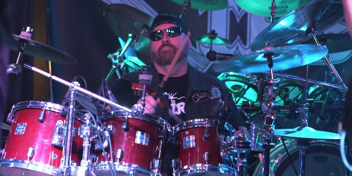 Ed Aborn drummer for 80s heavy metal band Siren
