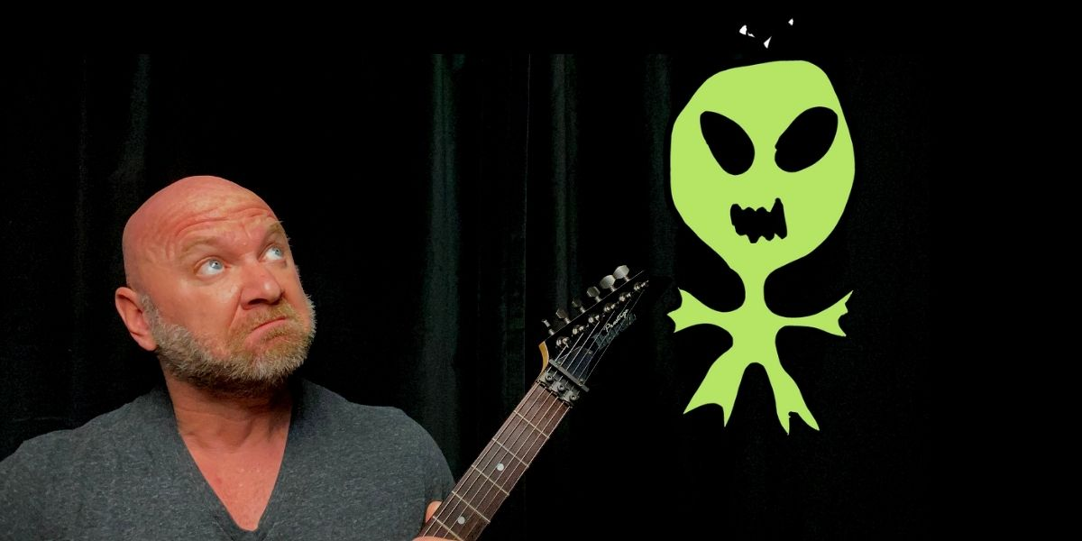 guitarists are aliens