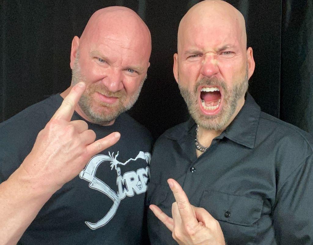 Jason Stallworth with Ed Aborn from Siren