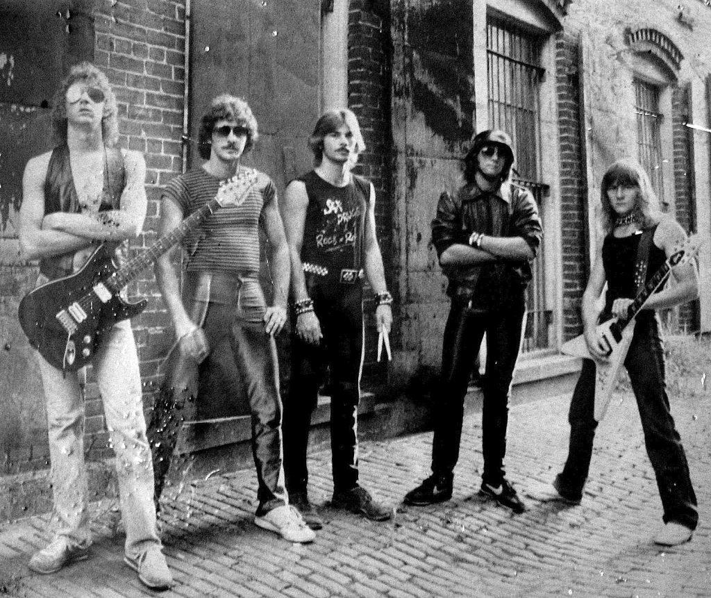 Siren 80s metal band early years